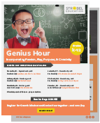 Genius Hour Training and Workshop - Strobel Education
