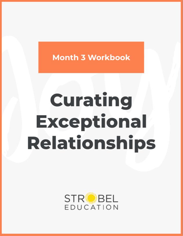 month three notebook